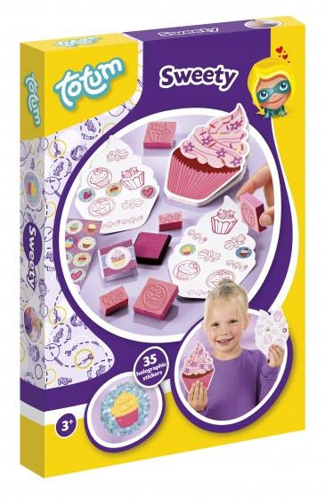 Totum stempelset cupcake 8 delig