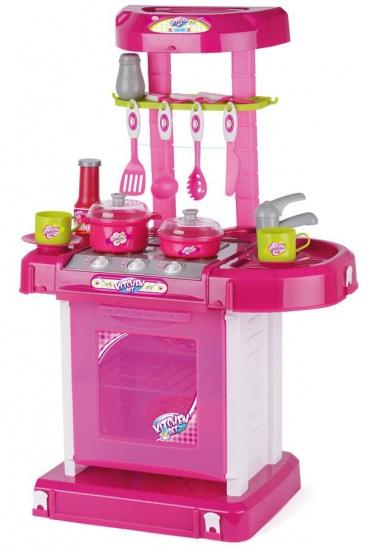 Toyrific Speelset keuken met licht en geluid meisjes roze