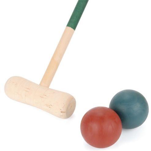 Toyrific Wooden Croquet set 9 delig