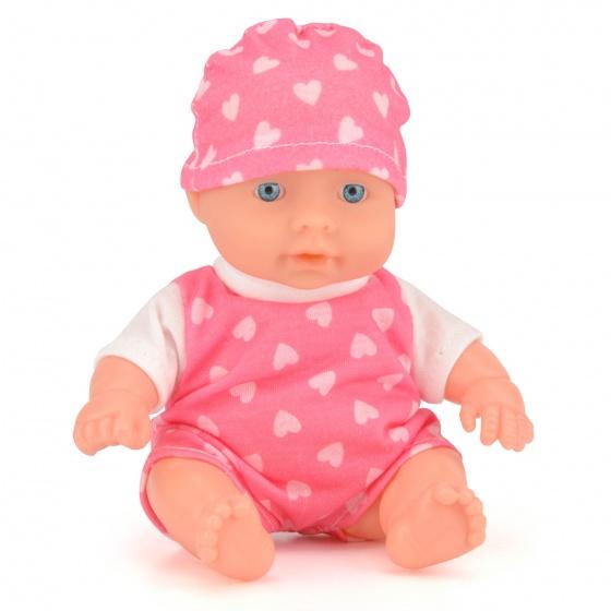 Toyrific babypop 15 cm roze