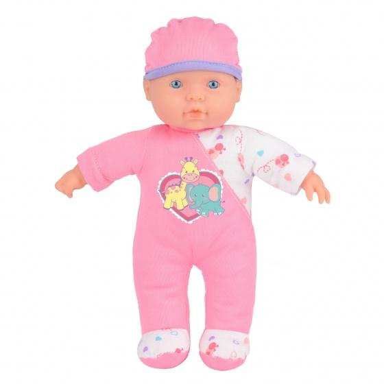 Toyrific Snuggles babypop interactief Sophia 24 cm roze