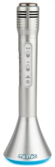 Toyrific bluetooth speaker en microfoon zilver 25 cm