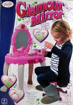 Toyrific Glamour Spiegel set meisjes roze