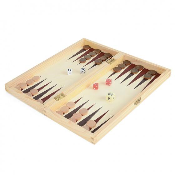 Toyrific houten spelbox 3 in 1
