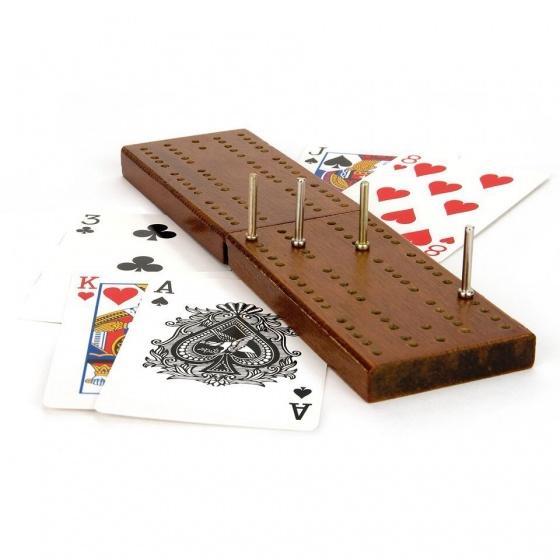 Toyrific kaartspel cribbage met houten scorebord