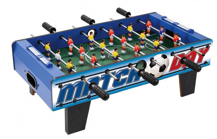 Toyrific Match Day voetbaltafel hout 24 x 69 x 37 cm blauw
