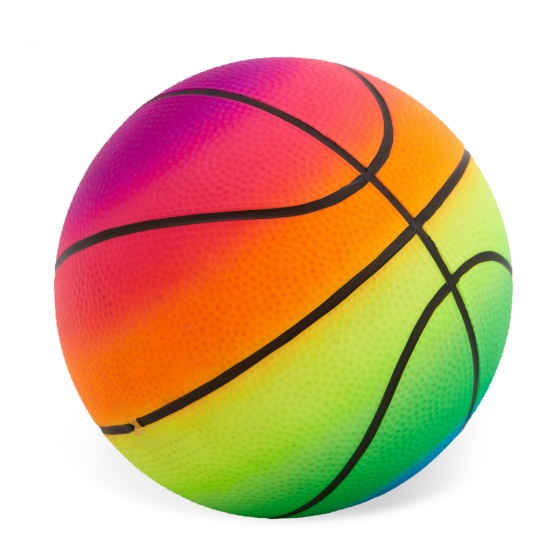 Toyrific mini bal regenboog 12,5 cm kopen