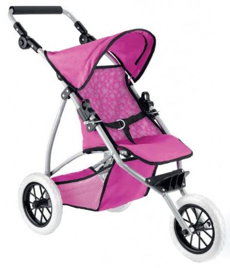 Toyrific poppenwagen Deluxe Dolls Pram roze 76 x 39 x 76 cm