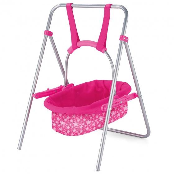 Toyrific schommelbed Doll Swing meisjes roze 51 x 33 cm