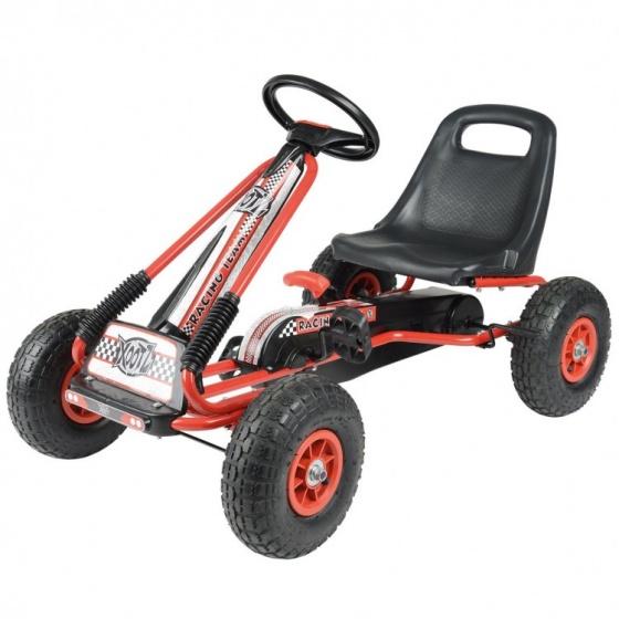 Toyrific skelter Xootz Go kart Junior Rood