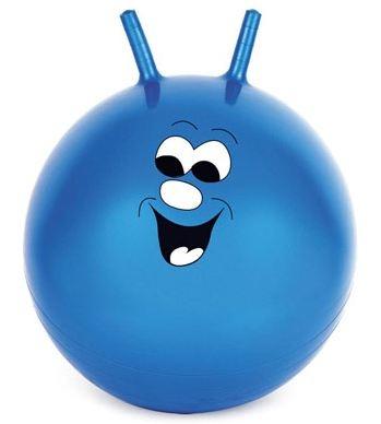 Toyrific Skippybal Jump N Bounce 51cm Blauw