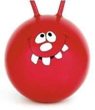 Toyrific Skippy Bal Jump N Bounce 61cm Rood