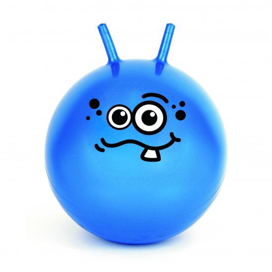 Toyrific Skippybal Jump 'N' Bounce 50 cm Blauw