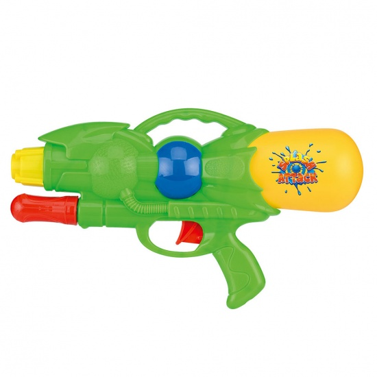 Toyrific Waterpistool Pump Action 28cm Groen