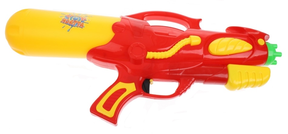 Toyrific Waterpistool Pump Action 48cm Rood
