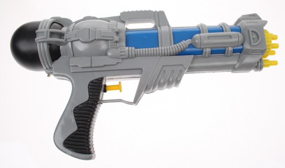 Toyrific Waterpistool XT 1500 Cyber GUN 28cm Blauw