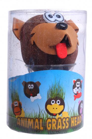 Toys Amsterdam grasvriendjes hond junior 7,5 x 12,5 cm bruin