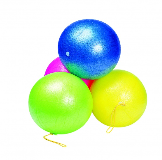 Toys Pure Punch en Play Bal: Blauw 25 cm