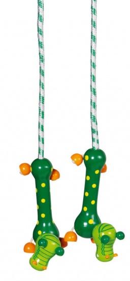 Toys Pure Springtouw Dieren: Krokodil 250 cm