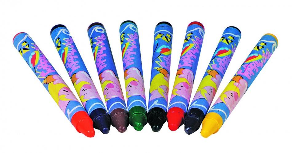 Toys Pure Textiel Krijtjes 8 Stuks