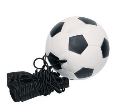 Toys Pure Voetbal Aan Armband: Zwart 6,3 cm