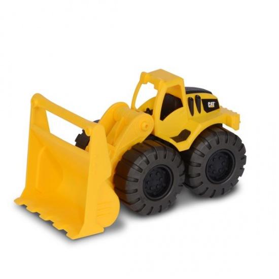 Toystate Caterpillar bulldozer 14 x 28 x 12 cm geel/zwart