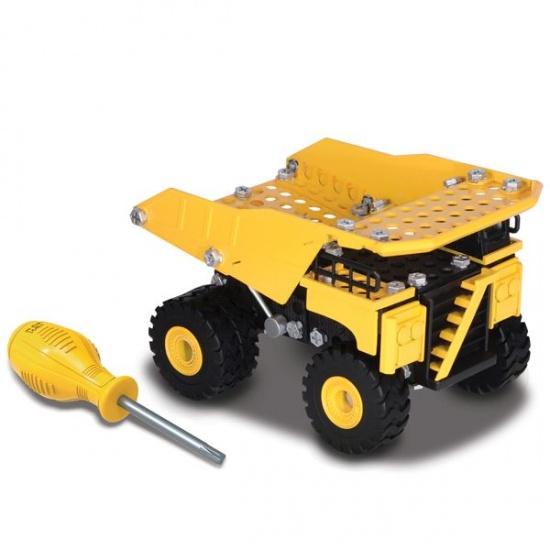 Toystate Caterpillar Constructie Dumper geel