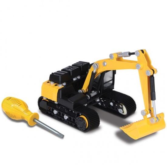 Toystate Caterpillar Constructie Excavator geel
