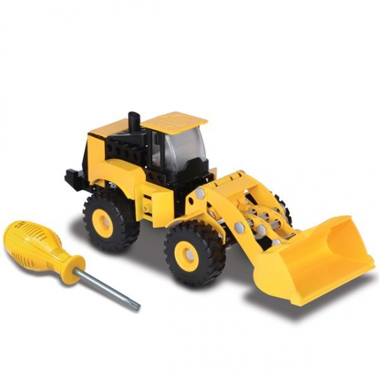 Toystate Caterpillar Constructie Wheel Loader geel
