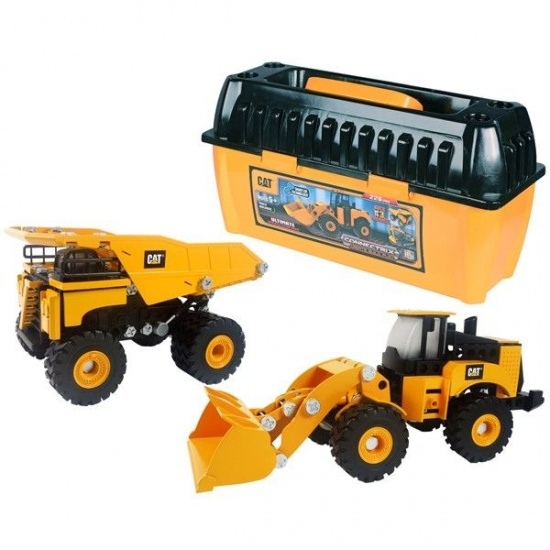 Toystate Caterpillar Machine Maker 226 delig geel