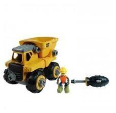 Toystate Caterpillar Machine Maker Dump Truck