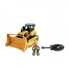 Toystate Caterpillar Machine Maker Bulldozer