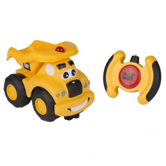 Toystate Caterpillar RC Haulin' Harry geel