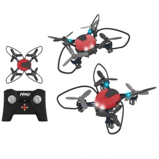 Toystate Nikko Air Nano drone 83 x 187 mm rood/zwart