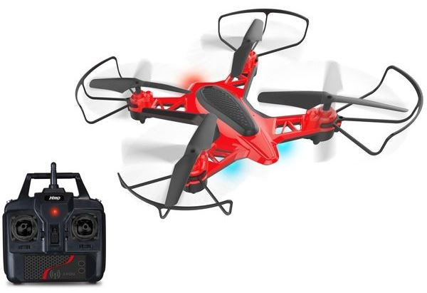 Toystate Nikko Air Nano drone rood/zwart