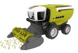 Toystate Road Rippers: Combine maaidorser groen