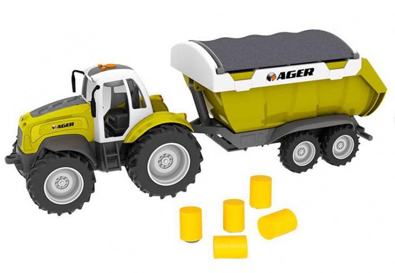 Toystate Road Rippers tractor met trailer groen