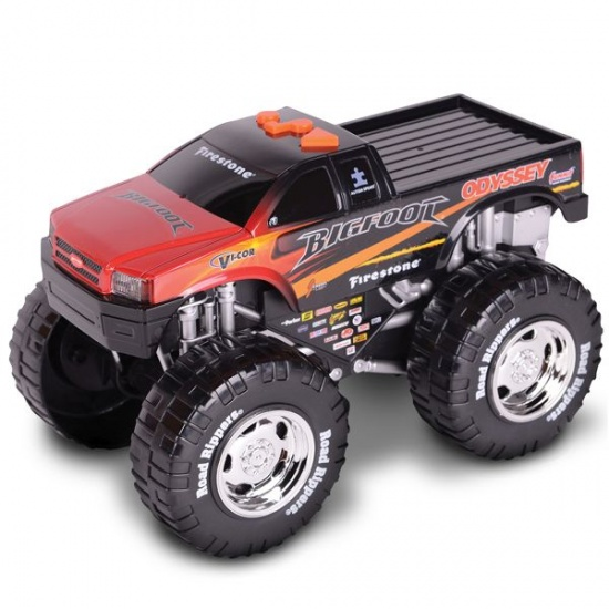 Toystate Road Rippers Wheelie Bigfoot zwart
