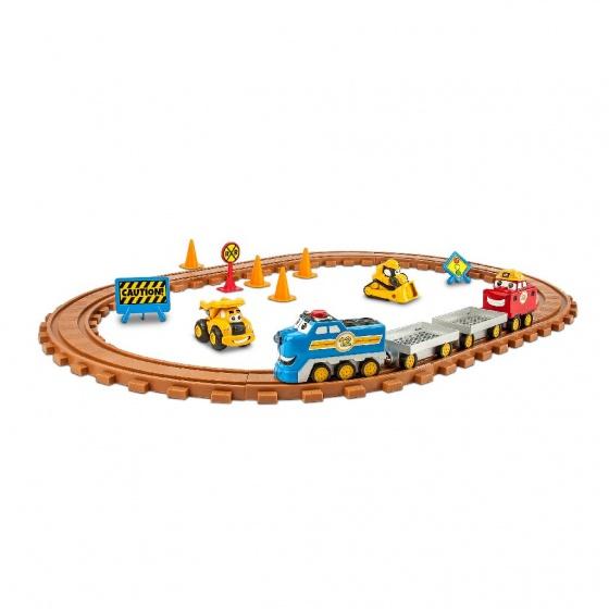 Toystate speelset caterpillar preschool trein