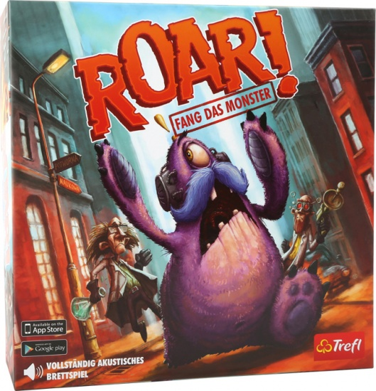 Trefl Roar! Vang het monster bordspel
