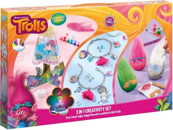 Trolls Creativity Set ToTum 3 in 1