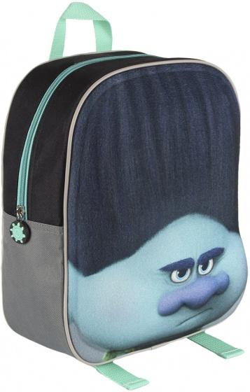 Trolls rugzak groen/blauw 31 x 25 x 10 cm