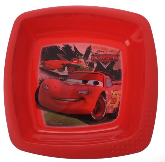 Trudeau schaal Cars kunststof rood 15 x 14 x 3 cm