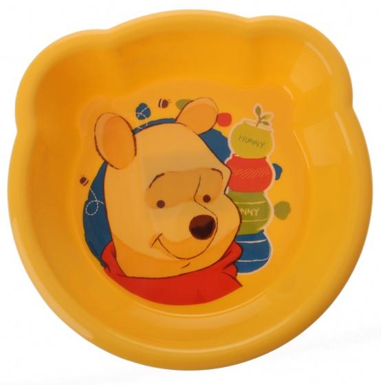 Trudeau schaal Winnie the Pooh kunststof geel 13 x 16 x 3 cm