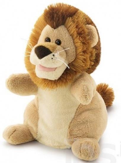 Trudi Handpop leeuw 25 cm bruin