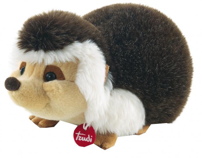 Trudi Knuffel Egel 36 cm bruin/ wit