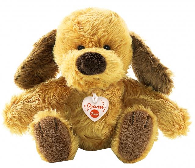 Trudi Knuffel hond 16 cm bruin/ beige