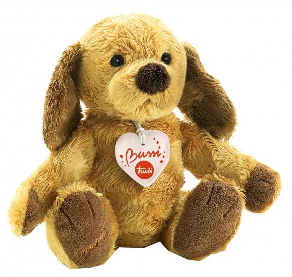 Trudi Knuffel hond 25 cm bruin/ beige