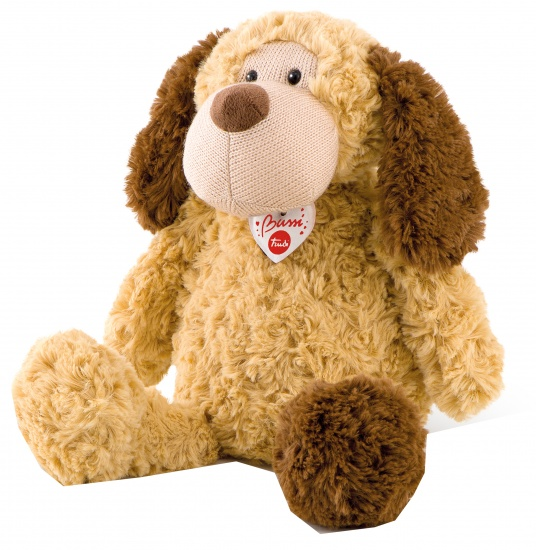 Trudi Knuffel hond 36 cm (licht)bruin
