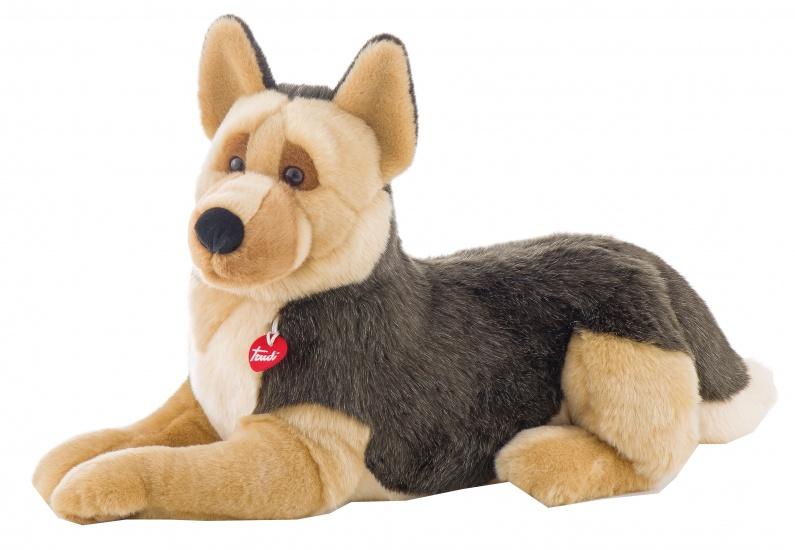 Trudi Knuffel hond Duitse Herder 60 cm bruin